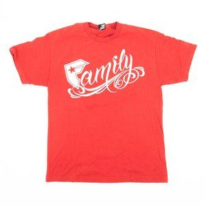 Famous Stars & Straps Shirt Graphic Tee Crew Red L